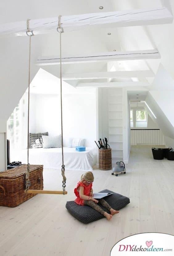 Dachbodenzimmer einrichten mit diesen tollen DIY Dekoideen - Mädchenzimmer einrichten
