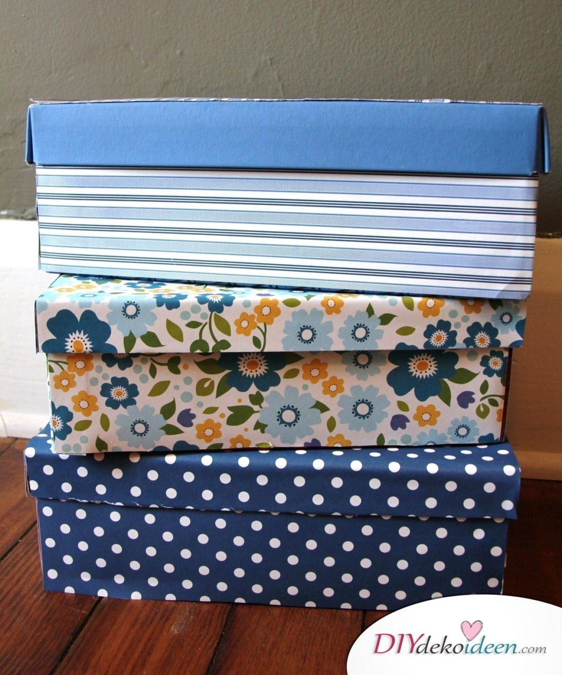 Christmas gift self-made gift box