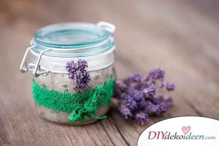Weihnachtsgeschenke für Frauen- Lavendel Badesalz