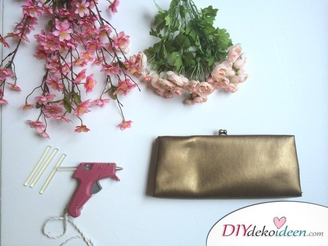 Weihnachtsgeschenke für Frauen- Blumen Handtasche