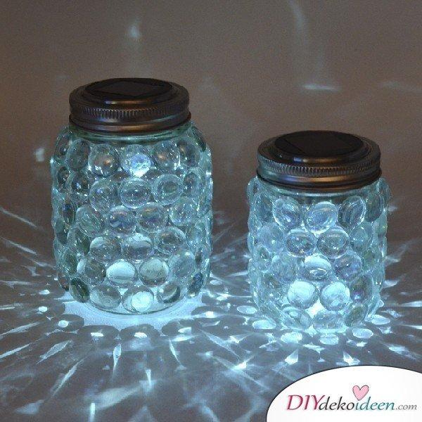 Weihnachtsgeschenke Ideen für Freundin- Einmachglas Kerzen