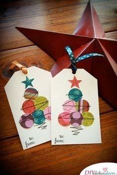 Karten für die Weihnachtspost basteln