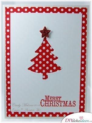 Weihnachtsgrußkarten gestalten