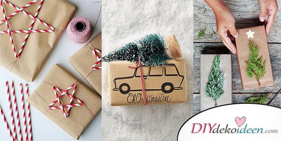 40 Weihnachten Geschenkverpackung Ideen – Geschenke Verpacken