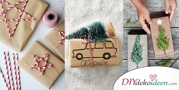 Ideen Weihnachten.40 Weihnachten Geschenkverpackung Ideen Geschenke Verpacken