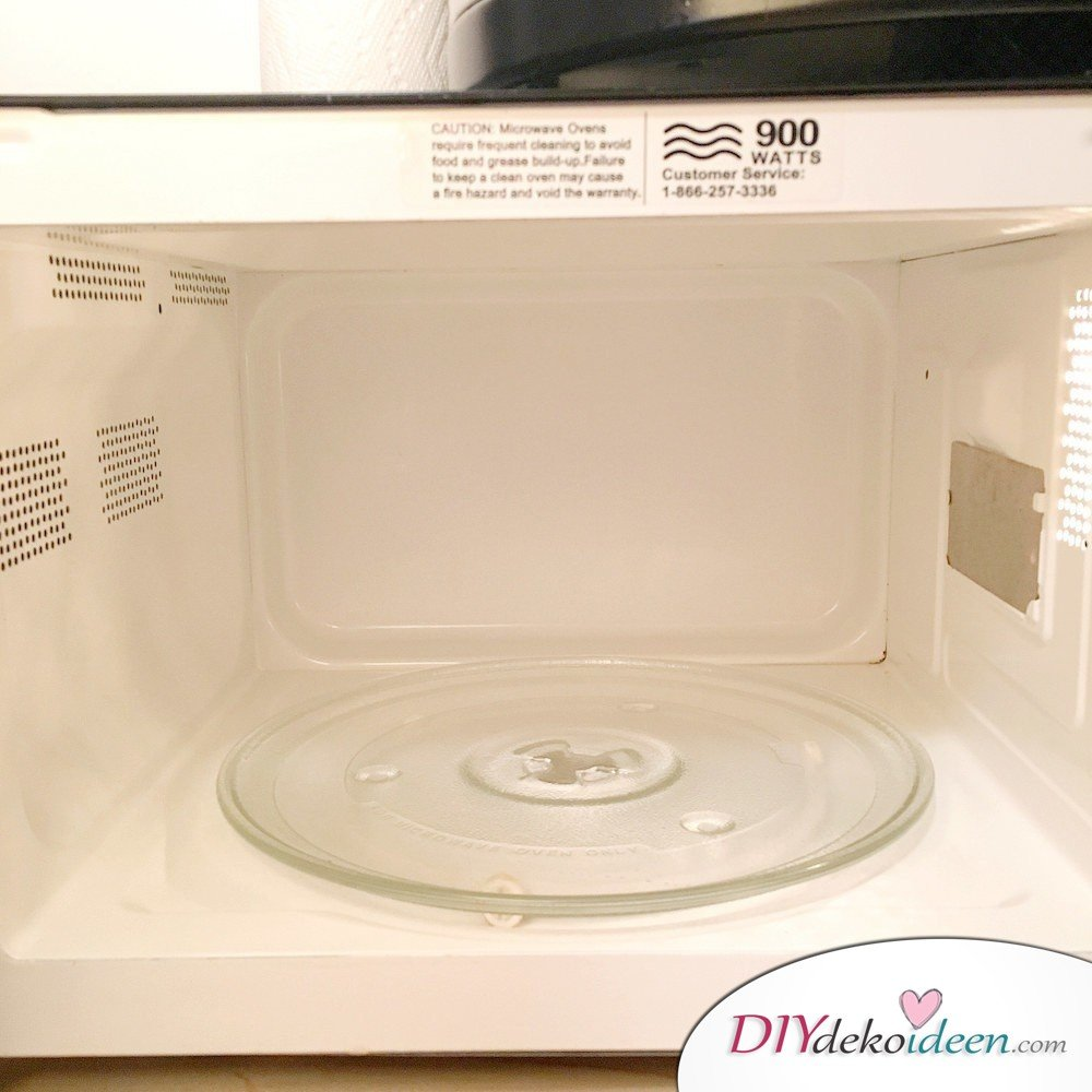 8 Super effective cleaning agent Without Chemistry - Microwave