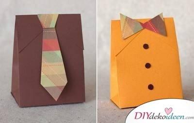 Kreative Verpackungen mit Papier basteln