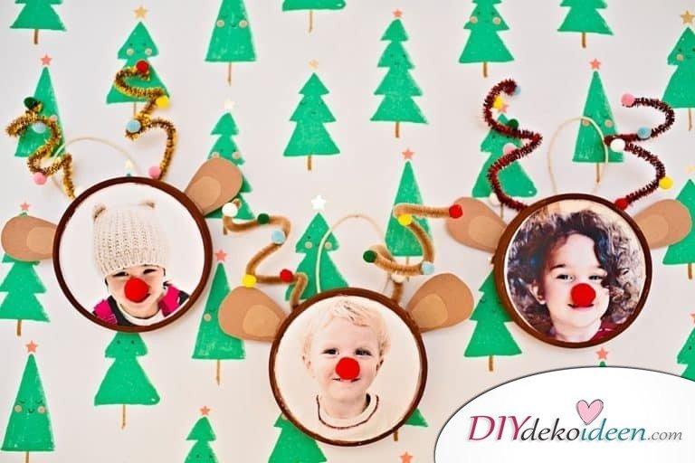 selbstgemachte Weihnachtsgeschenk Ideen- Rudolph Fotos