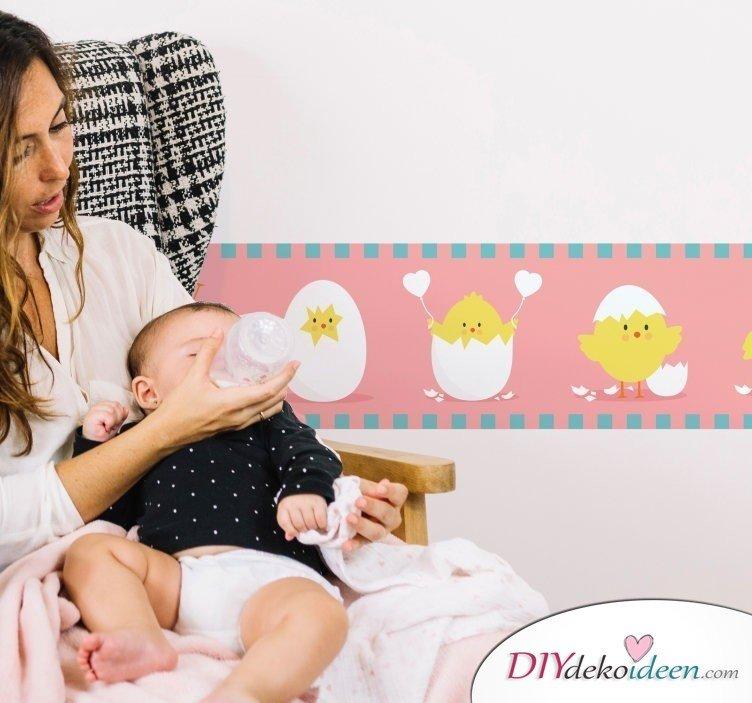 Wohntrend Wandtattoo – Wandaufkleber für Babys
