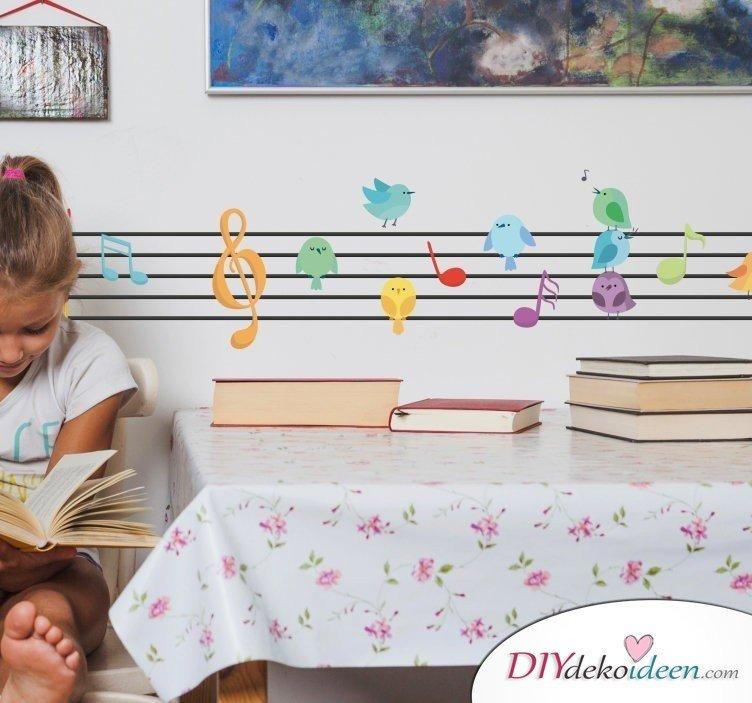Wohntrend Wandtattoo – Kinderzimmer einrichten