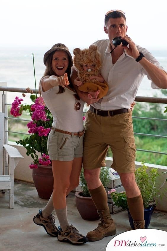 Karneval Kostüm selber machen - Safari
