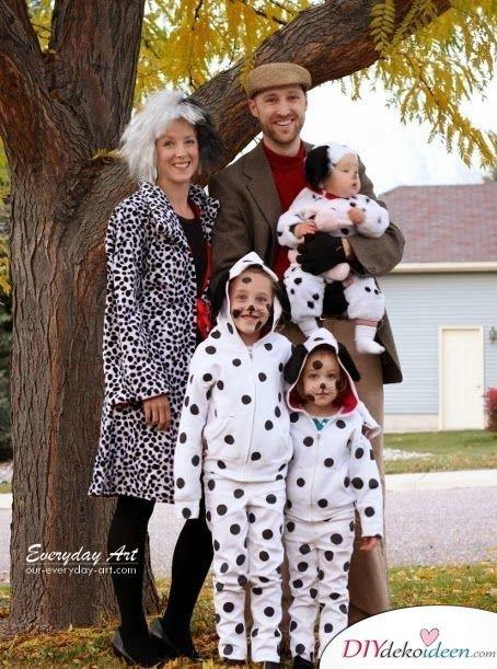 Kinderkostüme - 1001 Dalmatiner