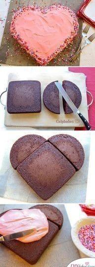 Hausgemachte herzförmige Torte – so scheitert deine Valentinstag Torte nicht an der Form