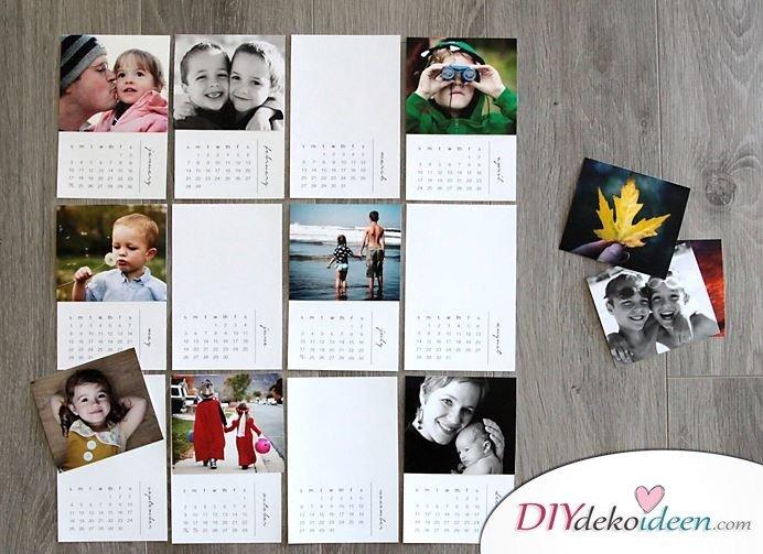 Immer ein schönes Geschenk für Mama – Fotokalender