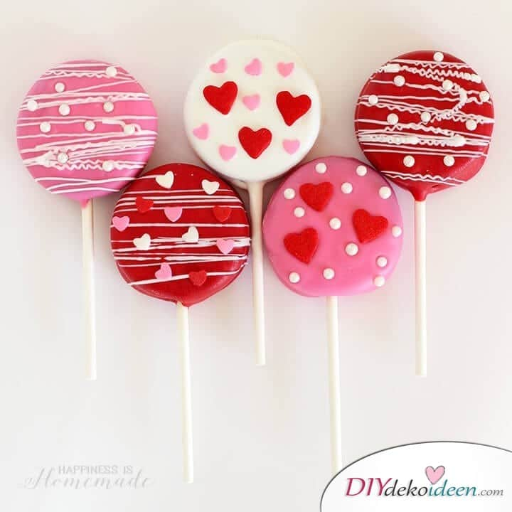 Valentinstag Oreo Kekse - Eine der schnellsten unter den Valentinstag Rezepte Ideen