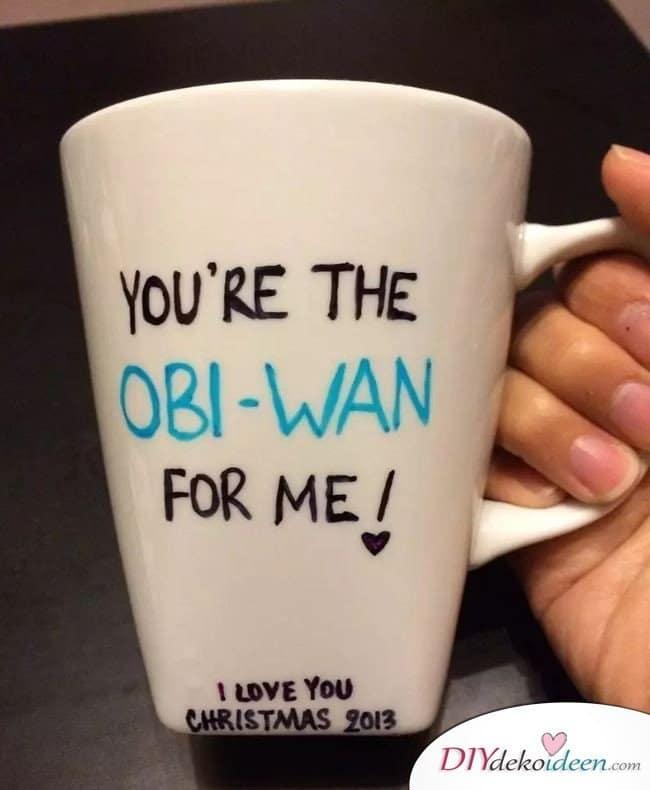 Persönliche, günstige Valentinstag Geschenkideen – Kaffeebecher