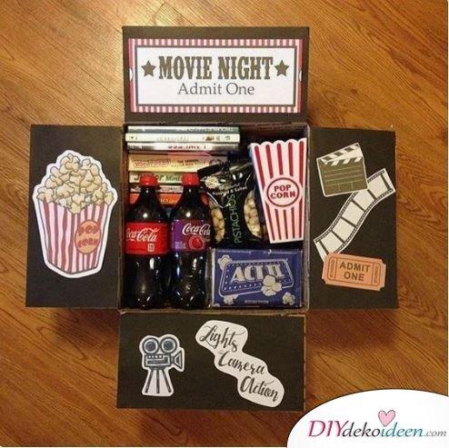 Kinobox – ein Muss für einen romantischen Valentinstagsabend