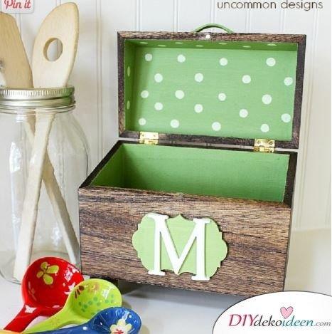 Schatztruhe - persönliches Geschenk für Mama