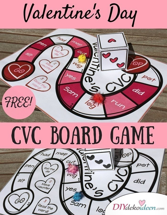 Valentinstag Gesellschaftsspiel – ein kleines Spiel für romantische Stimmung