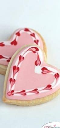 Valentinstag Kekse, mit denen du auf Nummer sicher gehen kannst