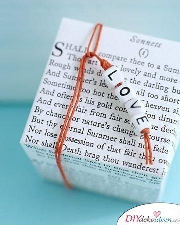 Liebesschachtel - Valentinstag Geschenke selber machen