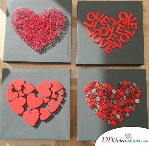 Liebeskunst fürs Schlafzimmer - Valentinstag Geschenke selber machen
