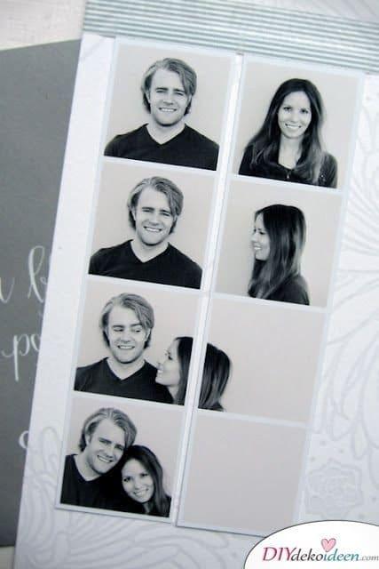 Valentinstag Geschenke selber machen – DIY Fotoautomat Bildchen