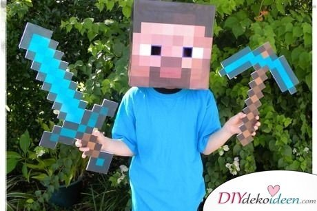 Kinder Karnevalskostüme – Minecraft