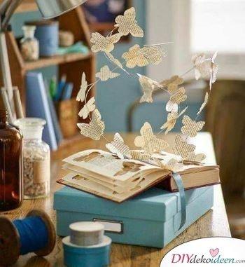 Fliegende Schmetterlinge - Geburtstagsgeschenke für Mama