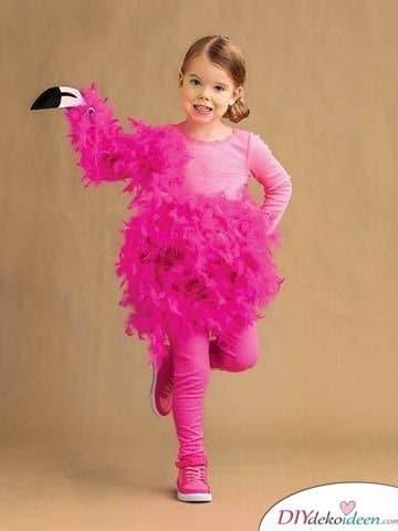 Kinder Karnevalskostüme – Flamingo