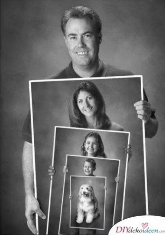 Familienporträt - schöne Geschenkideen für Mama