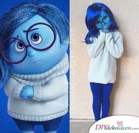 Kostüme für Mädchen - Traurigkeit