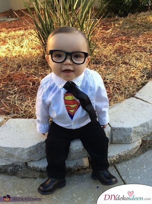 karneval kostüm ideen für babies - Superman
