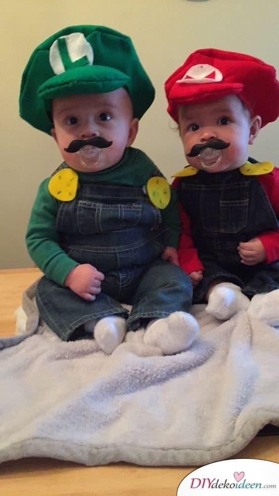 karneval kostüm selber machen - Super Mario