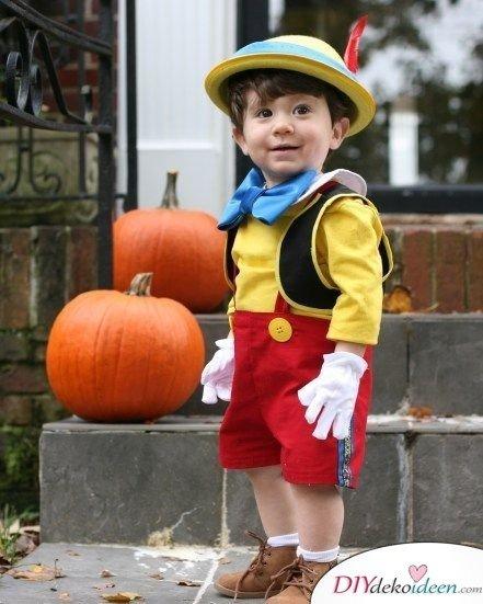 Pinocchio Kostüm für Karneval