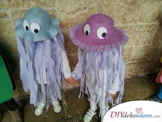 Qualle Kostüm Kinder - Faschingskostüme