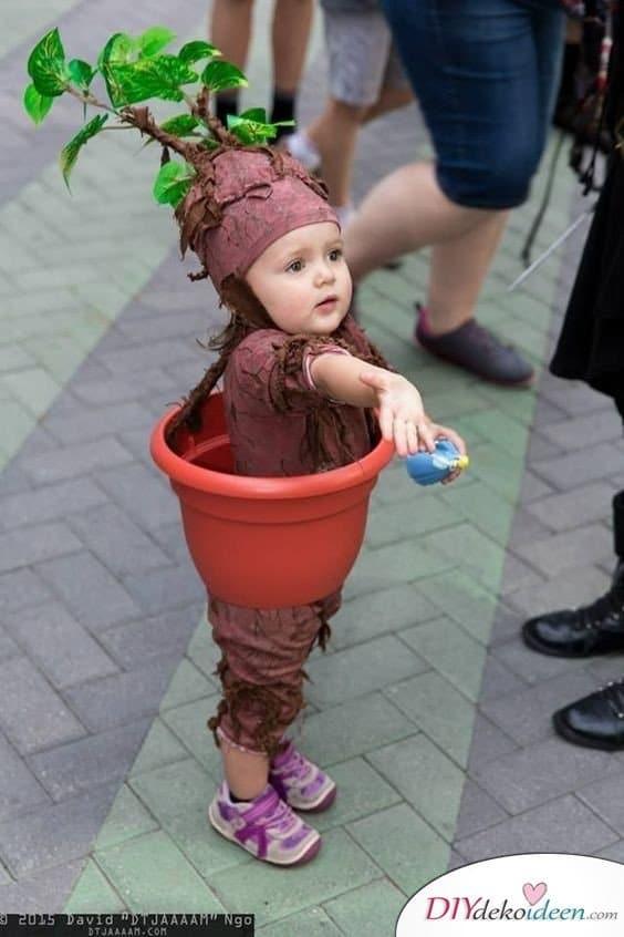 Blumentopf Kostüm Kinder