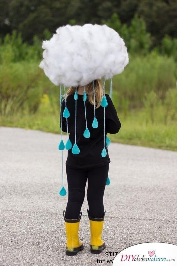 Wolke Kostüm für Karneval