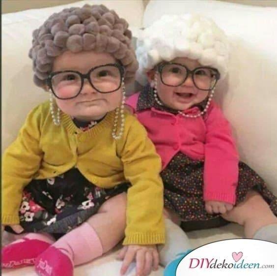 Baby Faschingskostüm selber machen - Oma