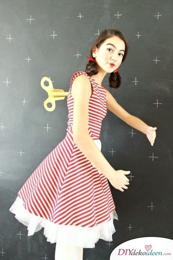 Aufziehbare Puppe - Kostüme für Mädchen