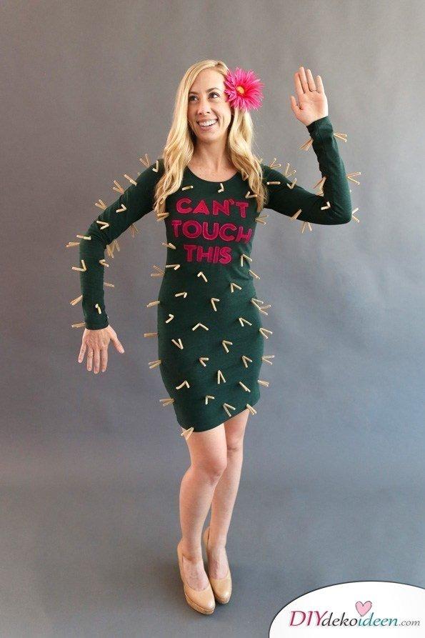 Kaktus - Karneval Kostüm Ideen für Damen