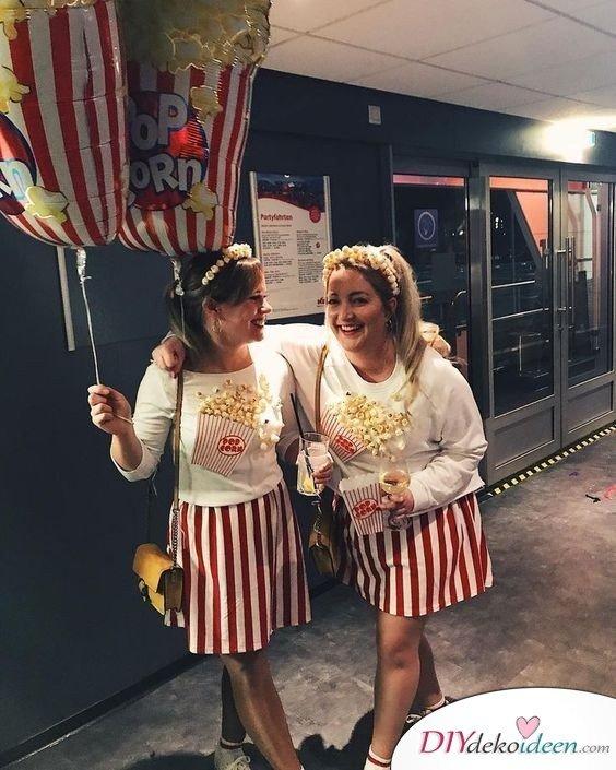 Karneval Kostüm Ideen für Damen – Popcorntüte
