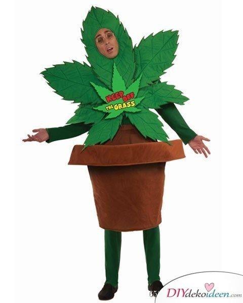 Marihuana-Pflanze - Herren Faschingskostüm Ideen