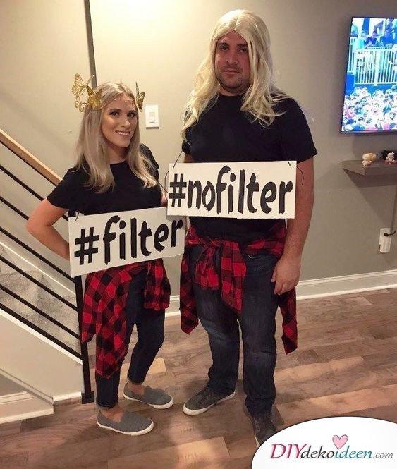 Instagram-Filter - Karneval Kostüm Ideen für Männer