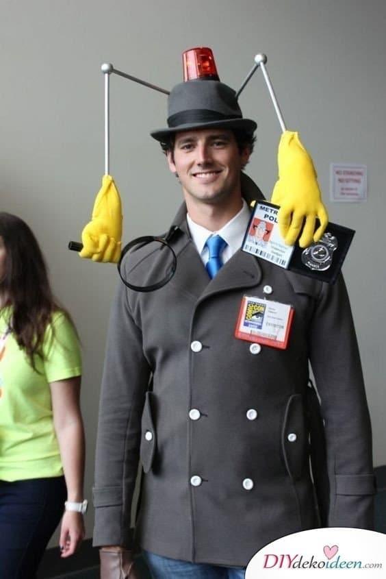 Inspektor Gadget - Faschingskostüme selber machen