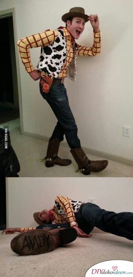 Woody, der Cowboy – Kostüm für Karneval