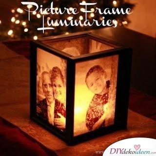 Familienfoto-Lampe - schöne Geschenkideen für Mama