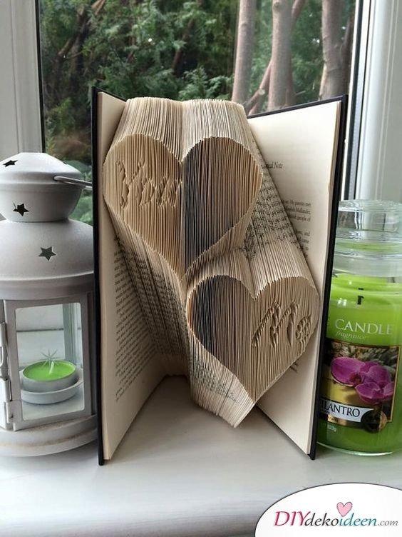 DIY Buch Muttertagsgeschenke - Geschenke für Mütter