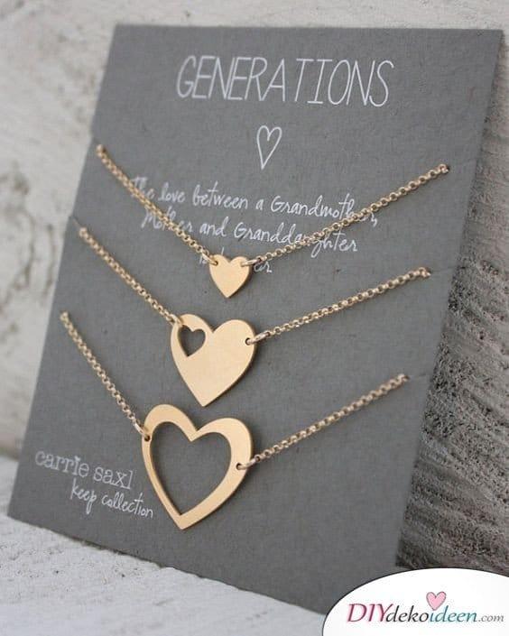 Generationenherz - Geschenkideen für Mama