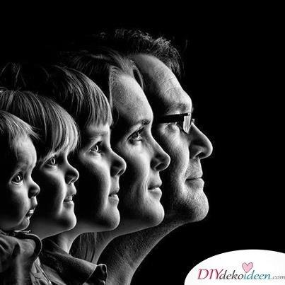 Familienporträt - Geburtstagsgeschenke für Mama
